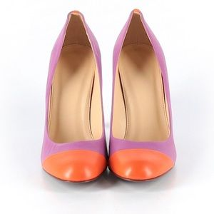JCREW MONA COLOR BLOCK PUMP/HEEL SZ 10
